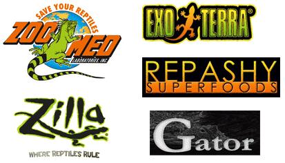 reptilia reptile store brand offerring