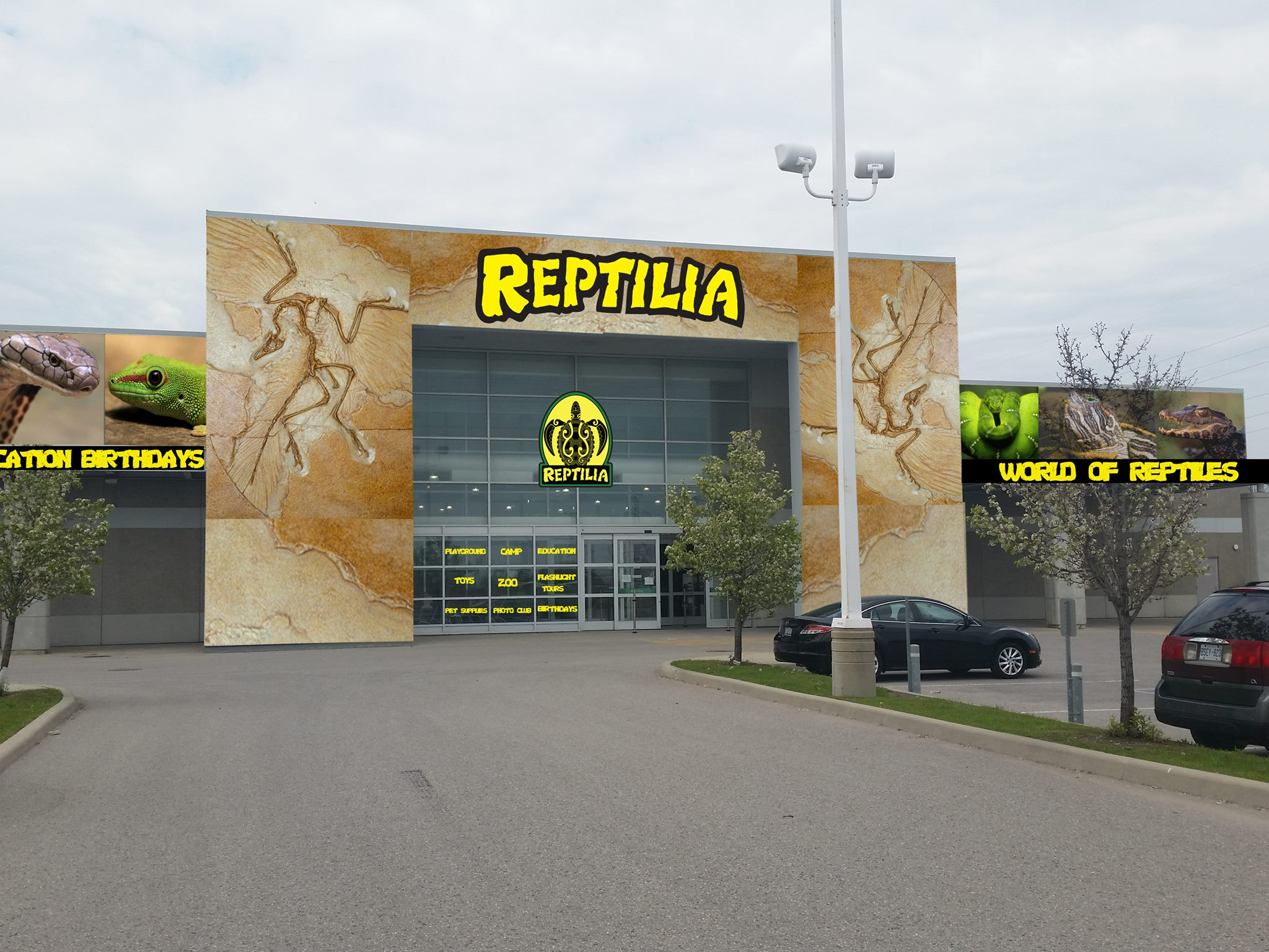 Reptilia Whitby - Grand Opening Mid-Summer 2018