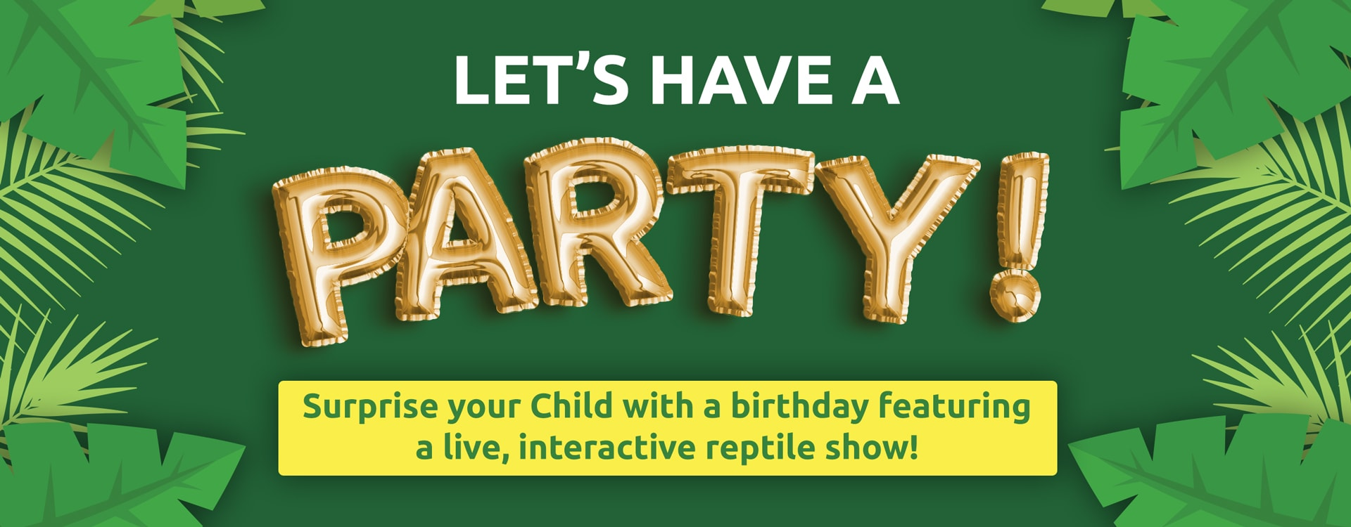 reptilia reptile zoo birthday party
