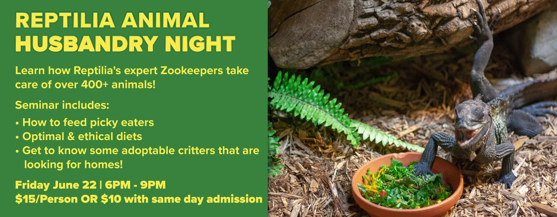Reptilia Animal Reptile Care Seminar