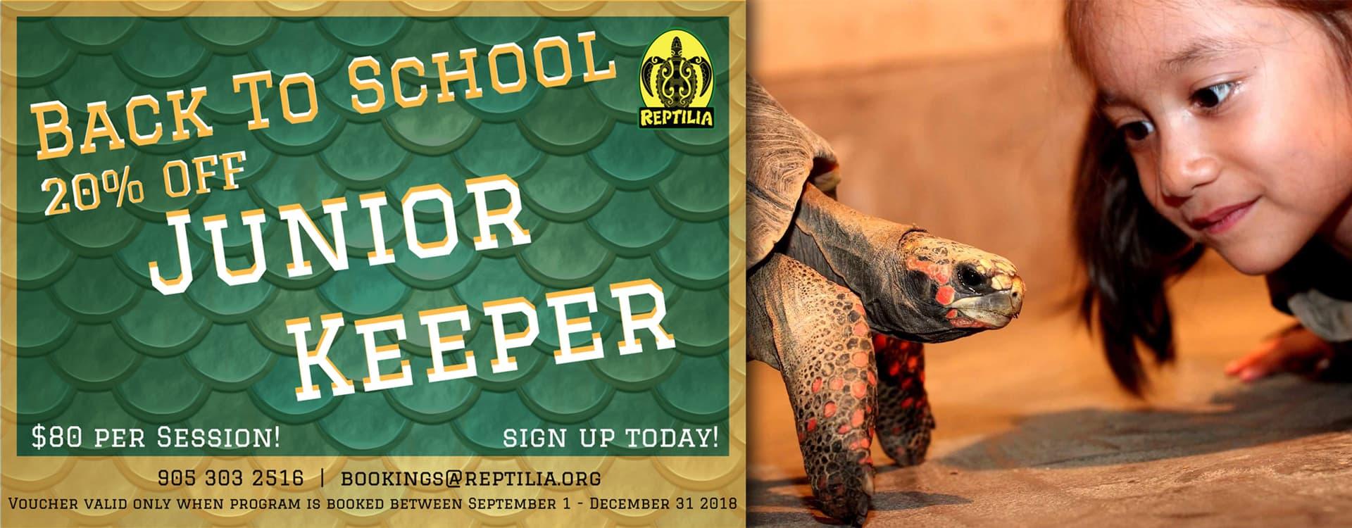 Junior Keeper Kids Program