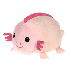 Reptilia reptile supply store lil huggy axolotl plush toy