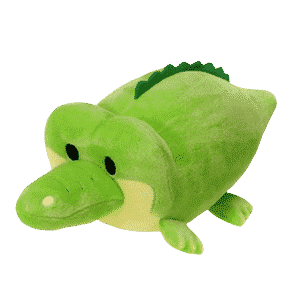 Reptilia reptile supply store lil huggy gator plush toy