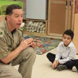 Reptilia Elementary Education program at a school visit