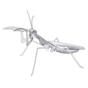 Reptilia reptile supply store metal mantis insect puzzle