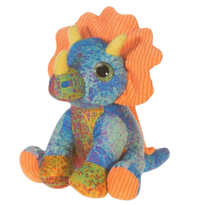 Reptilia reptile supply store scribbleez triceratops plush toy