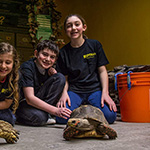 Reptilia Camp Kids with Turtle