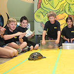 Reptilia Camp Kids at Turtle Race